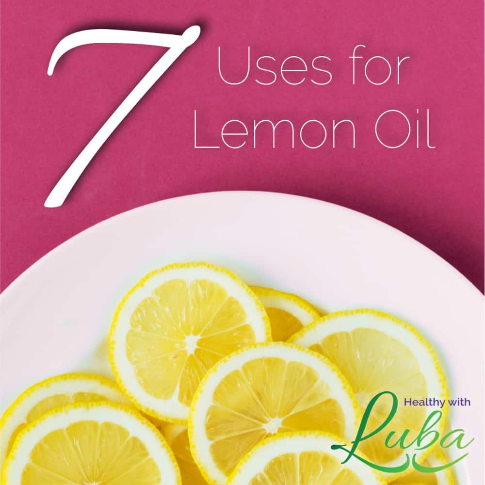 7 Uses for Lemon Oil