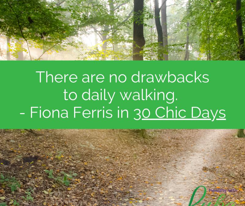 Wednesday Wisdom – Daily Walking